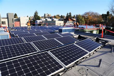 solar panel seattle power from the sun and support for affordable housing