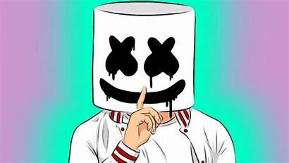 Ibispaint Marshmello Drawings Anime Nice Marshmellow Picsart