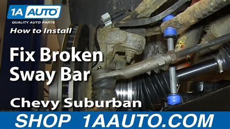 05 Caravan Sway Bar Diagram by How To Install Replace Fix Broken Sway Bar Link 2000 06
