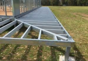spantec steel floor roof frame systems bearers joists