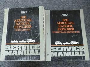 1995 Ford Aerostar Ranger Explorer Shop Service Repair