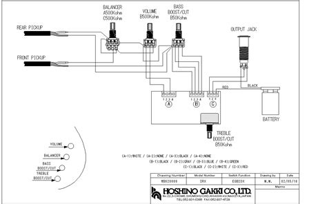 Ibanez Wiring Diagrams Guitar Construction