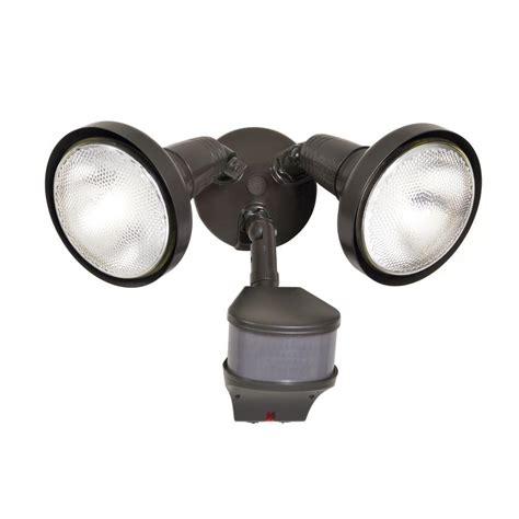 exterior flood lights motion sensor all pro precision plus doppler radar 270 degree outdoor