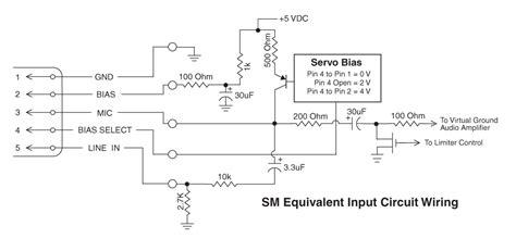 uhf transmitter 5 pin input wiring microphone wiring