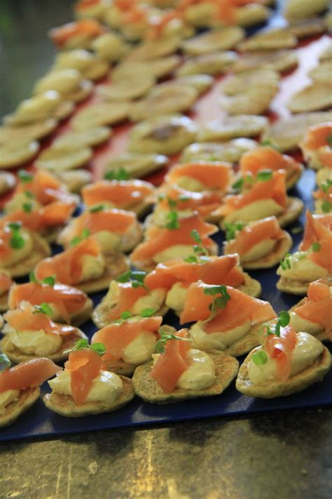 canape toppings 1000 ideas about blinis toppings on