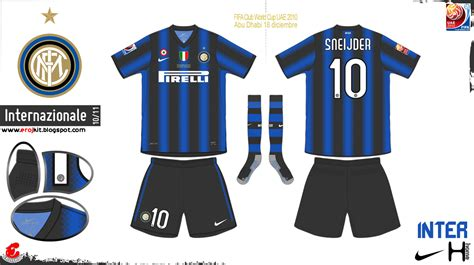 Kit Design, by eroj: 2010-11 Internazionale (Home e Away)