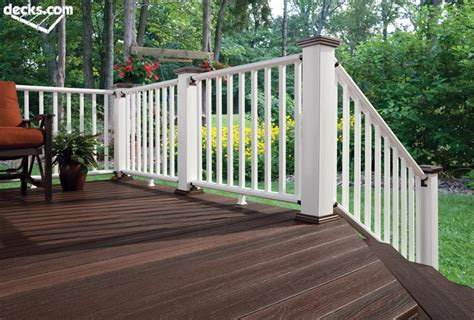 Decking Handrail Brackets by Deck Railing Designs Decks Com