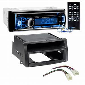 Boss Car Stereo Single Din Bluetooth Dash Kit Harness For