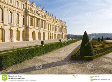 Versaillesschloss Und Garten In Frankreich Stockfoto