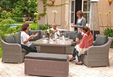 canapé barcelona vivez l 39 extérieur mobilier jardin barbecue jardinerie