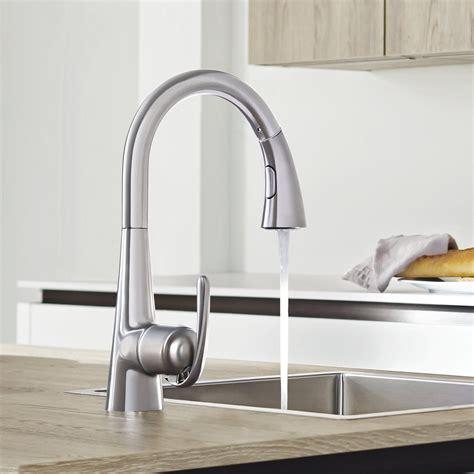 robinet de cuisine avec douchette robinet de cuisine grohe avec douchette 28 images