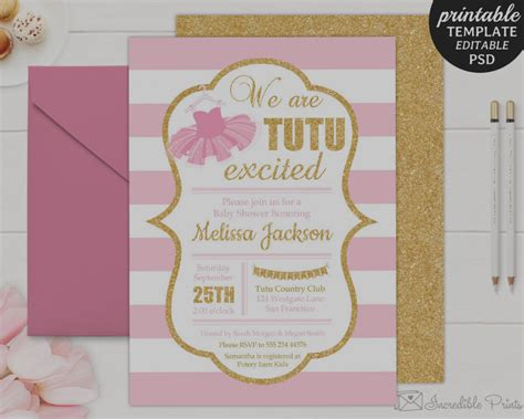 elegant baby template unique baby shower invitations templates editable baby