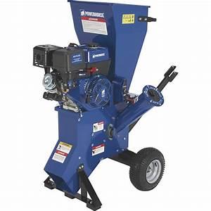 Powerhorse Chipper  Shredder  U2014 420cc Powerhorse Ohv Engine
