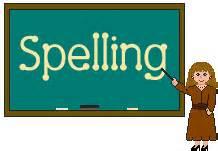 Mr. Appleton's 1st Grade Spelling Class & Spelling Words ...