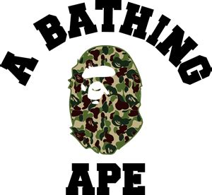 A bathing ape Logo Vector ( AI) Free Download