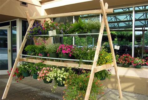 floral display stand google search garden center displays plant display ideas hanging