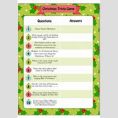 Printable Christmas Trivia Game  Moms & Munchkins