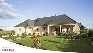 maison moderne avec plan en u With charming modele de maison en l 1 maison moderne en u