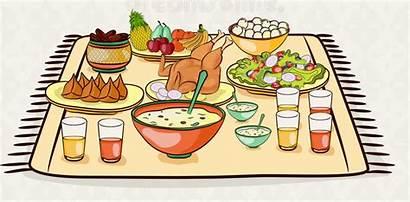 Party Ramadan Celebration Delicious Foods Card Iftar