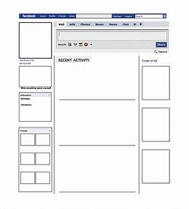 blank facebook template 11 free word ppt psd With fill in facebook template
