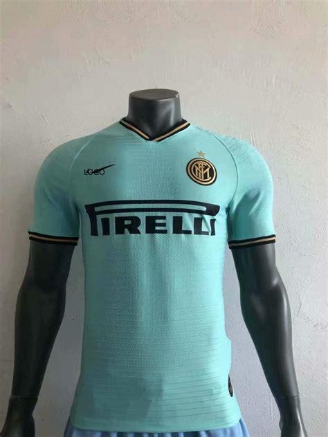 19/20 Adult player version Inter Milan away soccer shirt ...