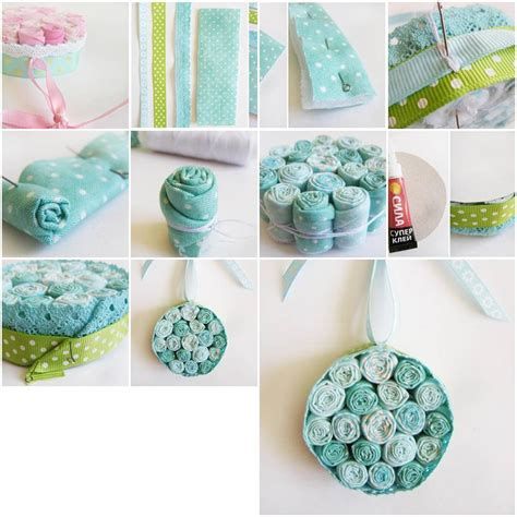 how to make a with cloth how to make cloth flower pendant step by step diy tutorial instructions thumb how to instructions