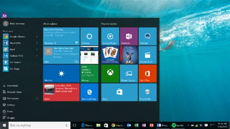 design panel praises microsoft s windows 10 start menu snubs apple pcworld