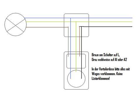 5 adriges kabel anschließen steckdose lichtschalter anschlie 223 en anleitung elektroinstallation lichtschalter anklemmen lichtschalter