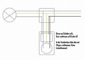 Steckdose Mit Lichtschalter Schalten : brauche schaltplan lampe schalter steckdose ~ Orissabook.com Haus und Dekorationen