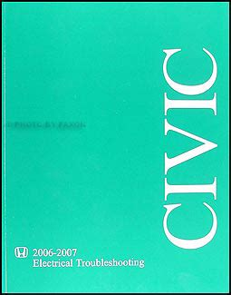 Honda Civic Electrical Troubleshooting Manual