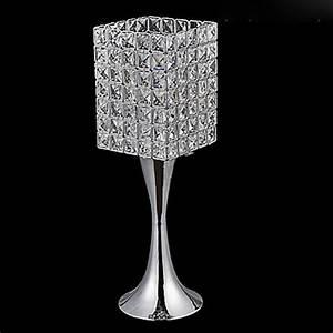 Lampe Halogène Pas Cher : lampe de table en cristal tu achat vente lampe a poser ~ Dailycaller-alerts.com Idées de Décoration