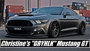 Lady Driven Sexy S550 Mustang GT Custom + Mods - YouTube