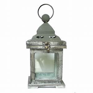 Lampe Aus Holz : laterne teelicht lampe aus holz und metall ~ Eleganceandgraceweddings.com Haus und Dekorationen