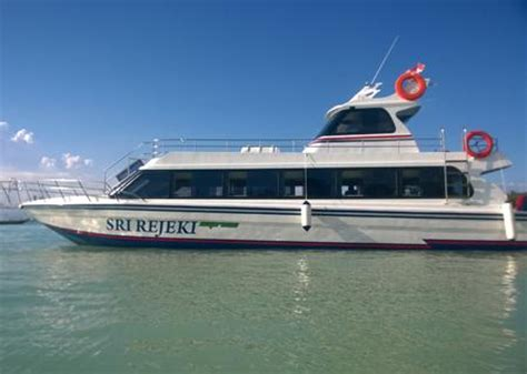 Fast Ferry Sanur To Lembongan by Sri Rejeki Express The Comfortable Fast Boat Between
