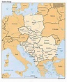 Online Maps: Eastern Europe Map