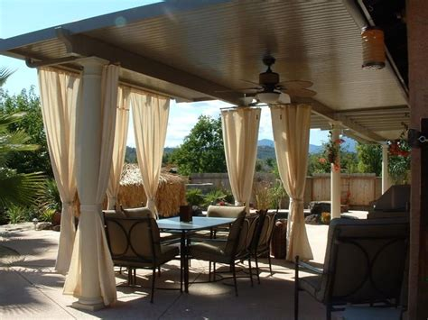 Aluminum Attached Solid Patio Cover
