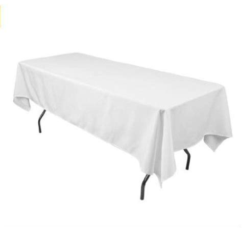extra long white table cloth aliexpress com buy extra long 60 x 126 in rectangular