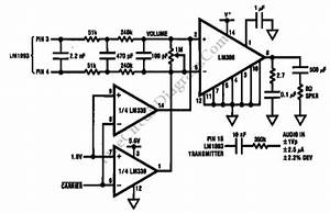 lm1893 powerline audio transmission schematic diagrams With power comes to your home through the power company39s transmission and