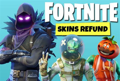 fortnite skins refund   refund skins   shop
