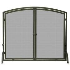 single panel fireplace screen with doors single panel fireplace screen ebay