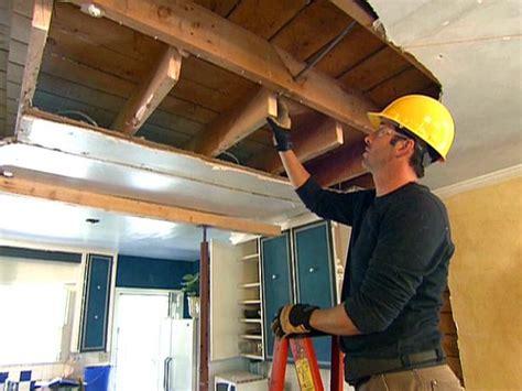 load bearing beam installation video diy