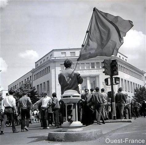 chambre de commerce et d industrie caen 27 mai 1968 les ouvriers de la radiotechnique devant la