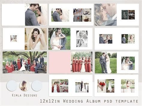 creative wedding album collection psd templates volumes 1 12 108 best images about wedding album wise on pinterest