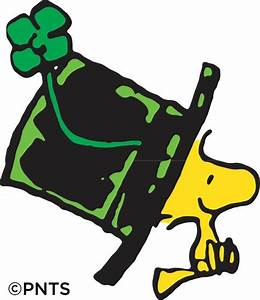 St. Patrick's Day - Woodstock | Charlie Brown & Peanuts ...