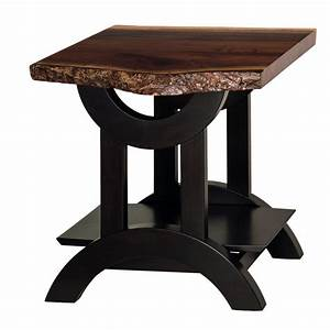 Gateway Live Edge End Table - Amish Crafted Furniture