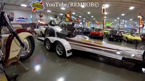 Massive Muscle Car Collection Of Ray Skillman's!