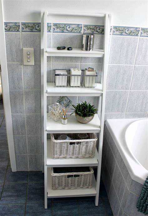 boost small bathroom space  space saving solutions