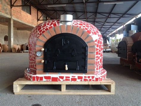 pizza oven outdoor pizza oven with ceramic tiles and cast iron door