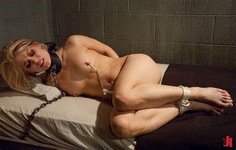 sex and submission blonde fucked in the mouth in extreme deepthroat sex and penetrated in bdsm