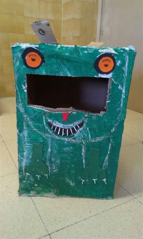 proyecto de reciclaje en  eso diver colegio claret madrid